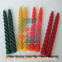 Spiral Candles, www.Candle-Machine.cn